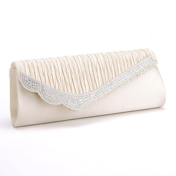 Rhinestone-Satin-Pleated-Women-Bridal-Patry-Evening-Bag17_595 50 Fabulous & Elegant Evening Handbags and Purses