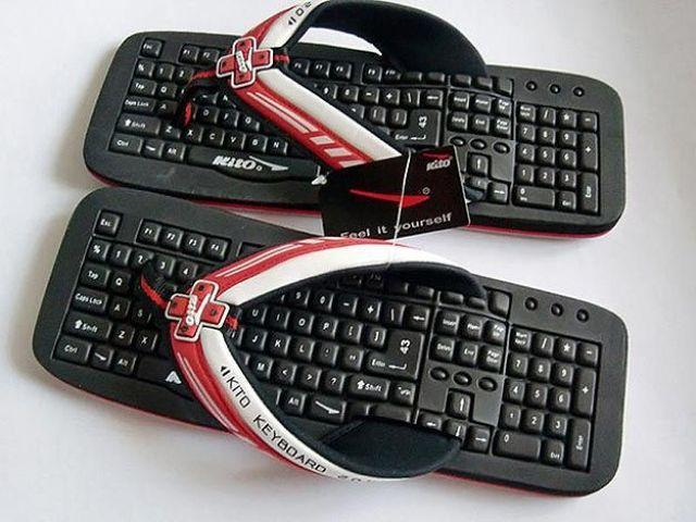 Slippers-Of-Professional-Computer-Genius 45 Non-traditional & Funny Christmas Gifts for 2019