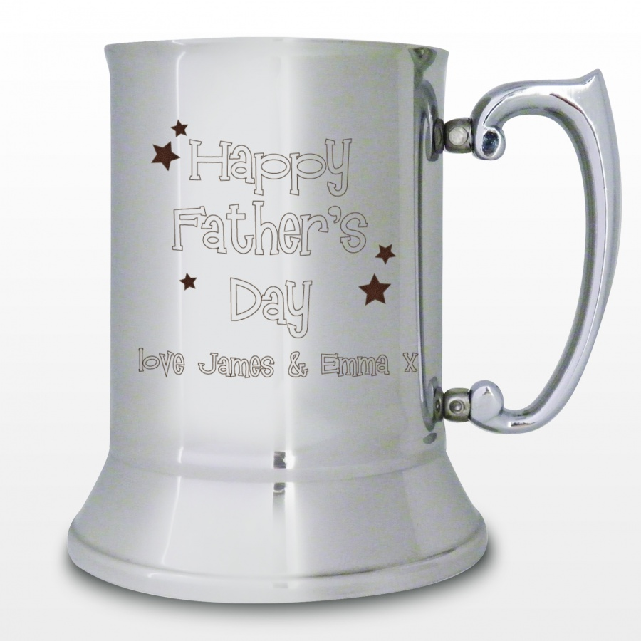 Stainless_Steel_Fathers_Day_Tankard_45240 50 Unique Gifts for Father's Day