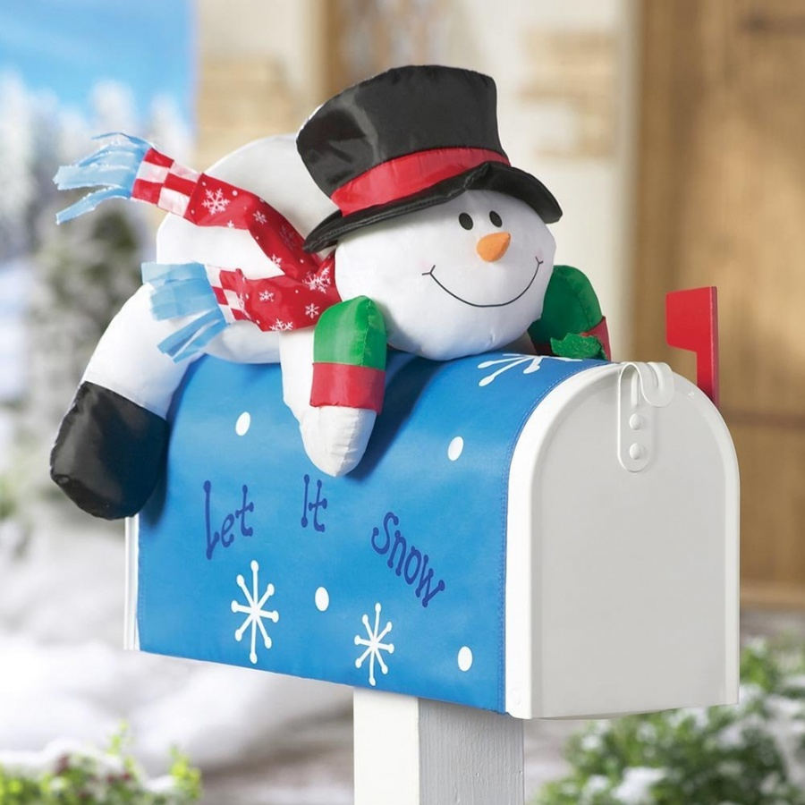 Stuffable-Snowman-Holiday-Mailbox-Cover-For-xmas-Outdoor-Decoration The Best 10 Christmas Gift Ideas for Grandparents