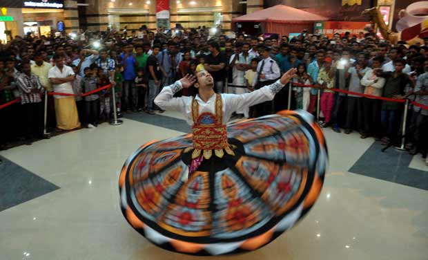 Tanura-4 Get Inspired While Watching A Live Show Of Tanoura Dance Performance