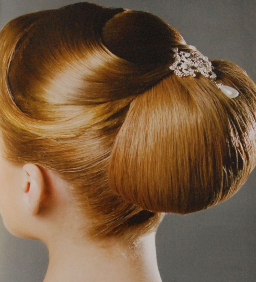 Wedding-Hairstyle-Classic 50 Dazzling & Fabulous Bridal Hairstyles for Your Wedding