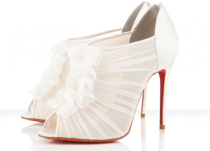 White-Bridal-Shoes-2 A Breathtaking Collection of White Bridal Shoes for Your Wedding Day