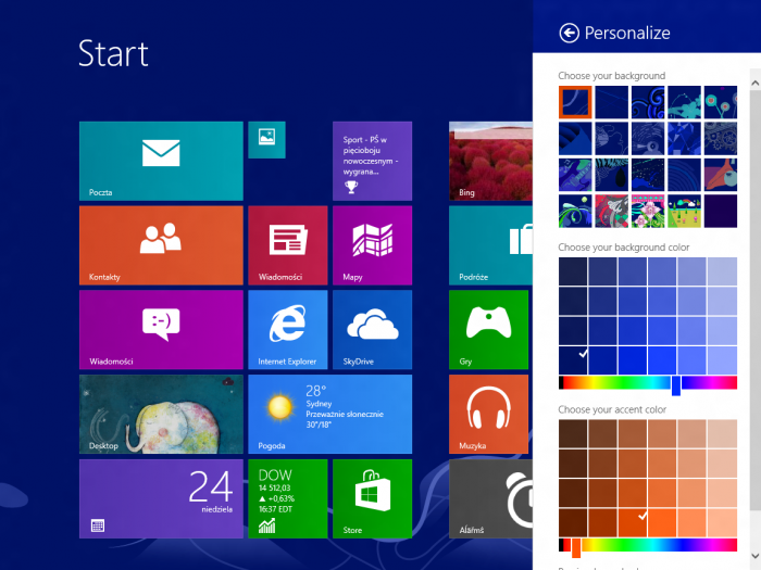 Windows_Blue_Personalise Microsoft Releases Its New Windows 8.1