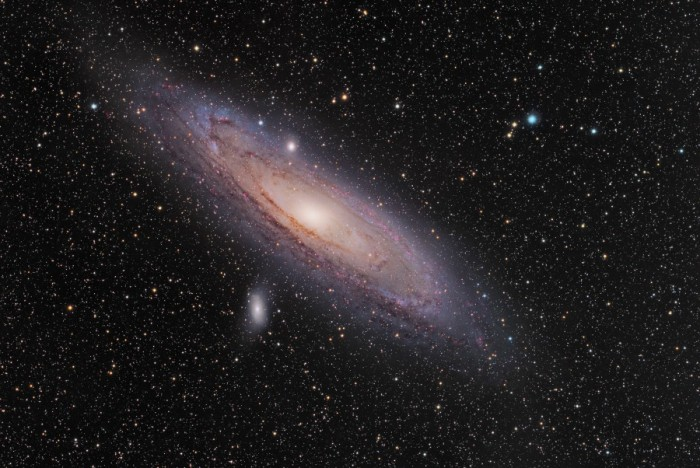 """andromeda-galaxy-the-most-distant-object-easily-visible-to-the-eye1 """"z8_GND_5296"""" Has Been Detected to Be the Most Distant Galaxy"""