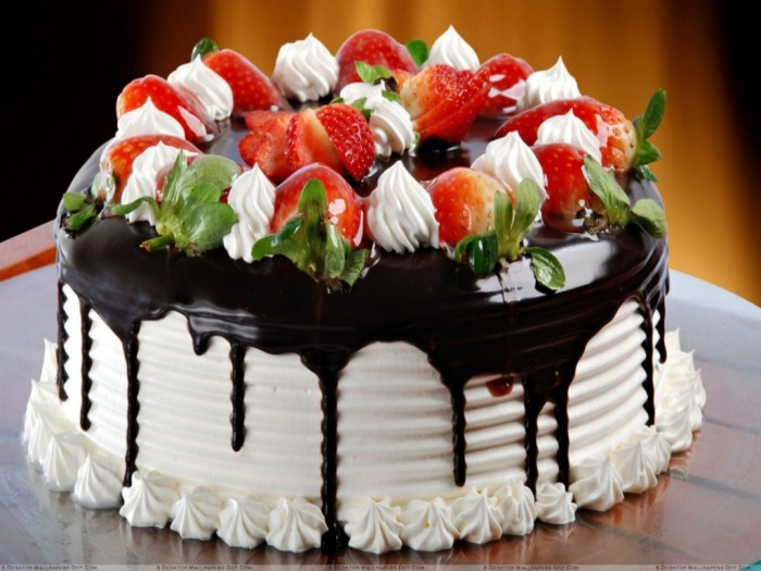 birthday-cakes-background 60 Mouth-Watering & Stunning Happy Birthday Cakes for You