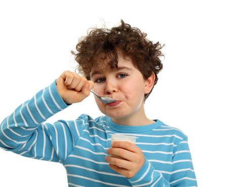 boy-eating-yogurt The Health Benefits Which Make Yogurt A Great Food For Your Kids