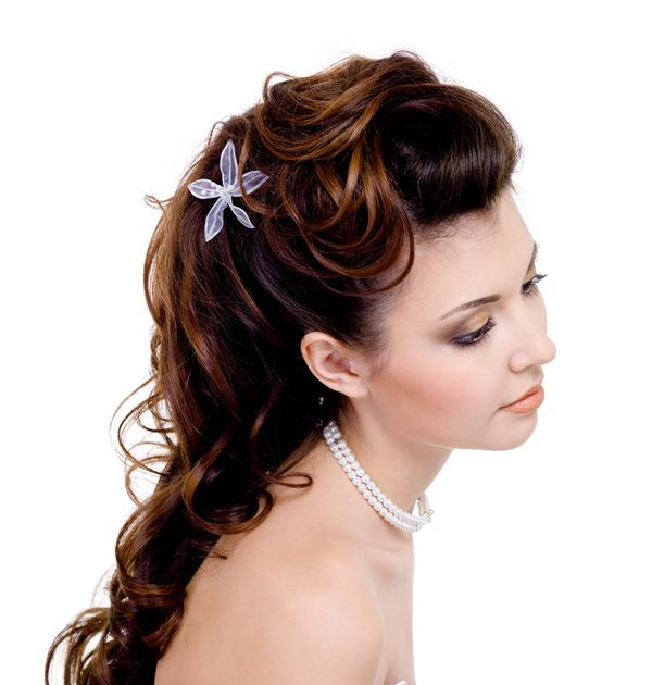 bridal-hairstyles-with-curls_zoom 50 Dazzling & Fabulous Bridal Hairstyles for Your Wedding