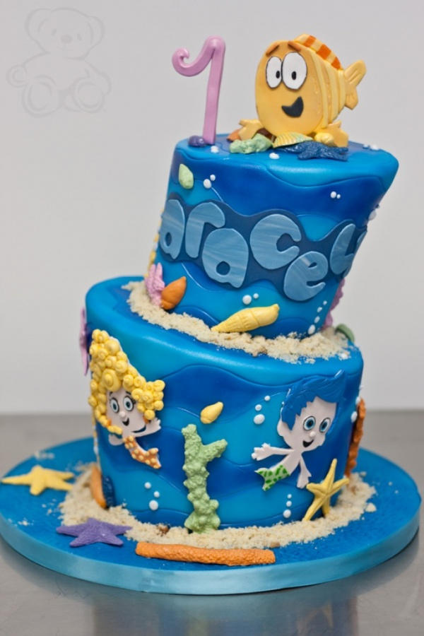 bubble-birthday-cake-full 60 Mouth-Watering & Stunning Happy Birthday Cakes for You