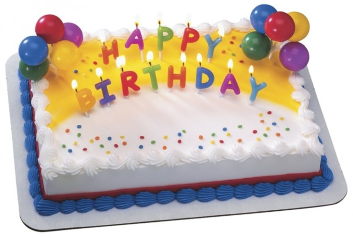 candlecake 60 Mouth-Watering & Stunning Happy Birthday Cakes for You