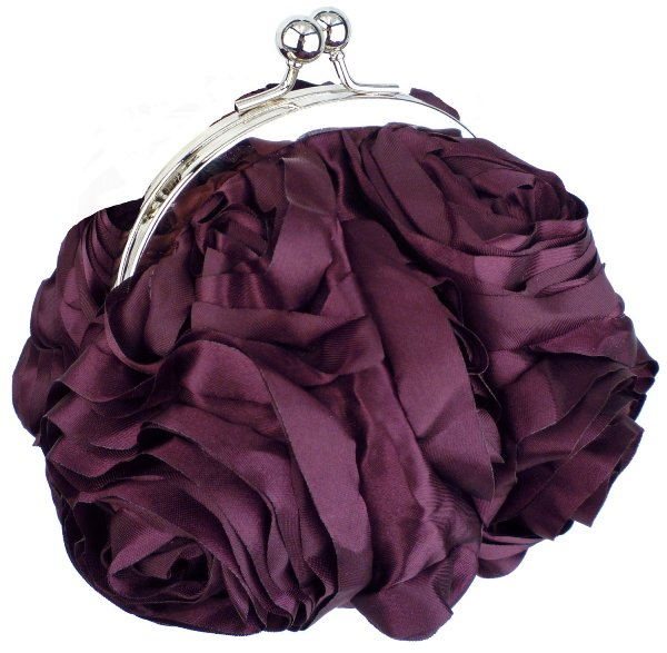 creative+and+beautiful+handbags+Bouquet-Roses-Rosette-Handmade-Handbag 10 Stunning & Fascinating Homemade Xmas Gifts