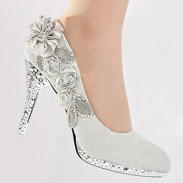 crystal_rose_high_heel_women_shoes_silver 48+ Best Christmas Gift Ideas for Your Wife