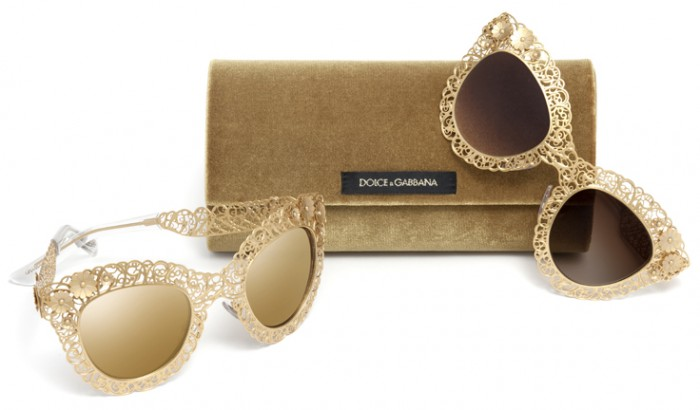 dolce-and-gabbana-eyewear-fall-winter-2014-filigree-collection 48+ Best Christmas Gift Ideas for Your Wife