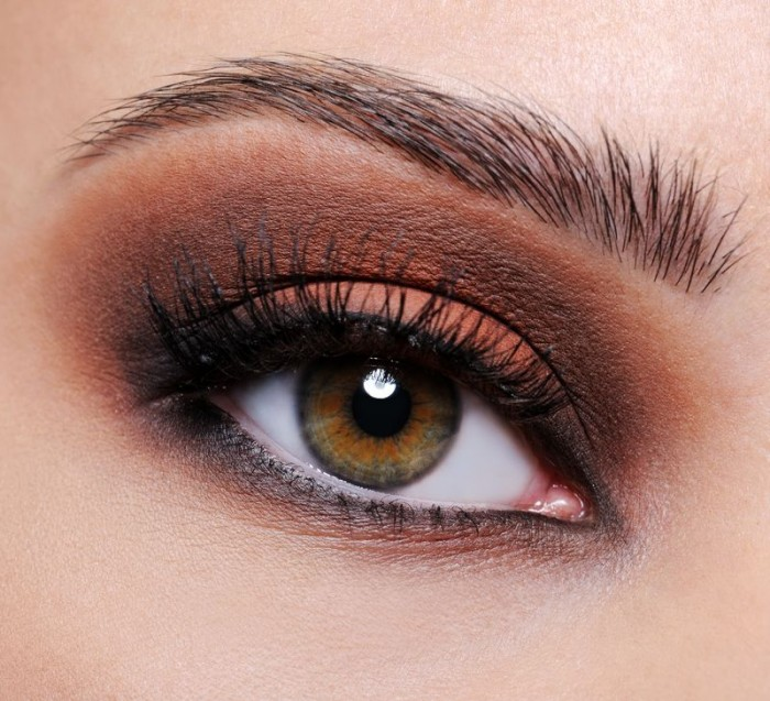 eye-makeup-brown-eyes_zoom Get a Magnificent & Catchy Eye Make-up Following These 6 Easy Steps