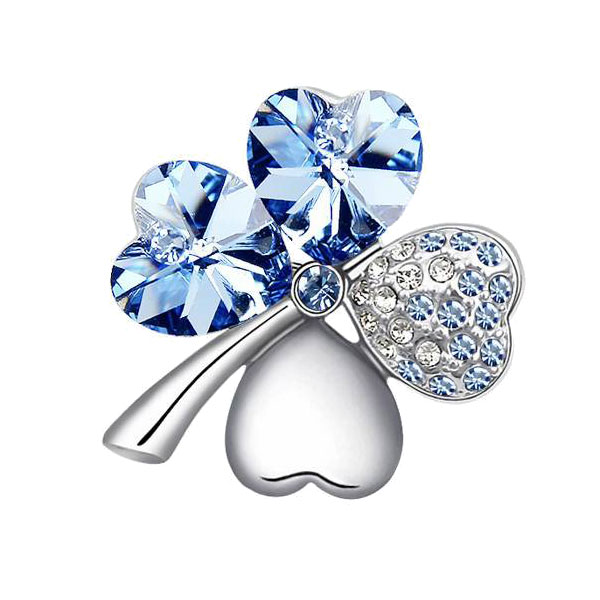 four_leaf_clover_swarovski_brooch_014965_3 11 Tips on Mixing Antique and Modern Décor Styles