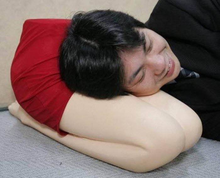 funny-and-weird-pillow-for-lonely-men 45 Non-traditional & Funny Christmas Gifts for 2019