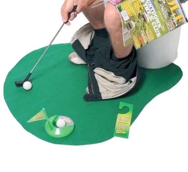 funny-gifts-for-dad-potty-putter-toilet-golf-game 45 Non-traditional & Funny Christmas Gifts for 2019