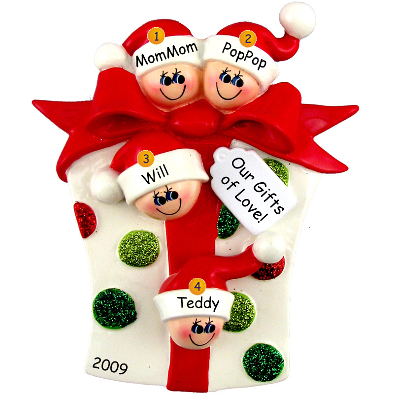 grandparents-ornament-christmas-gift-package-two-kids-800x800 The Best 10 Christmas Gift Ideas for Grandparents