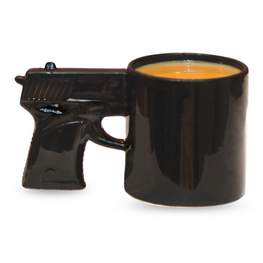 gun-mug 45 Non-traditional & Funny Christmas Gifts for 2019