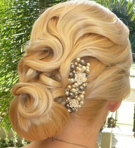 hair-styles 50 Dazzling & Fabulous Bridal Hairstyles for Your Wedding