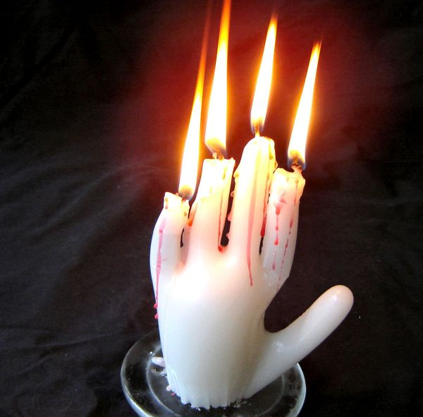 hand-candle 15 Fascinating & Unusual Christmas Presents