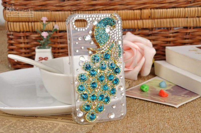 handmade-crystal-phoenix-bling-diamond-mobile 50 Fascinating & Luxury Diamond Mobile Covers for Your Mobile