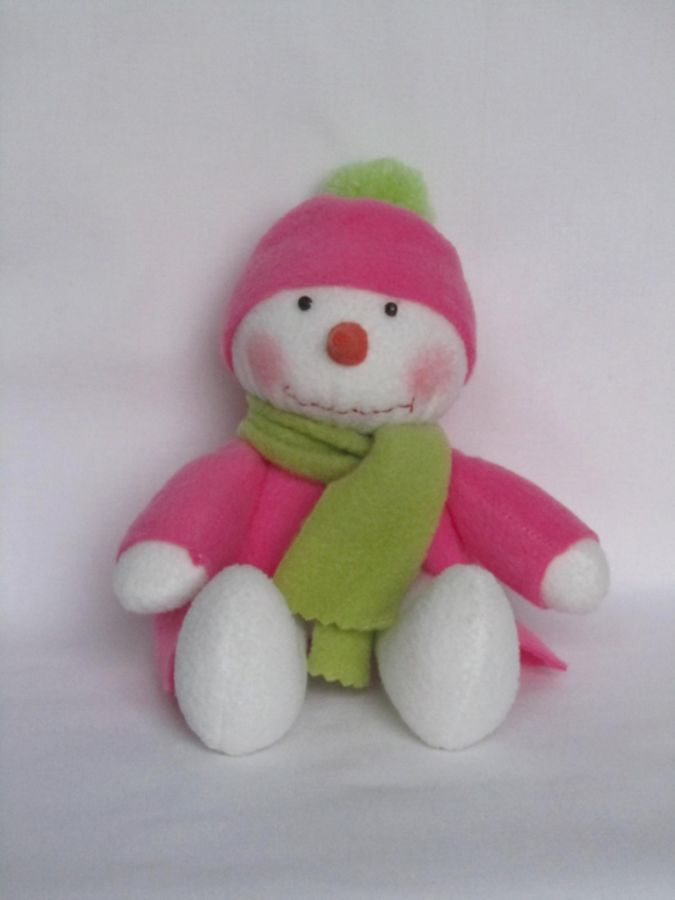 handmade-toys-dolls-snowmen-toys-pink-front 10 Stunning & Fascinating Homemade Xmas Gifts