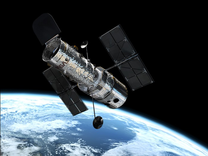 "hubble_in_orbit1 ""z8_GND_5296"" Has Been Detected to Be the Most Distant Galaxy"
