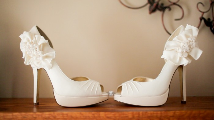 Photo of A Breathtaking Collection of White Bridal Shoes for Your Wedding Day