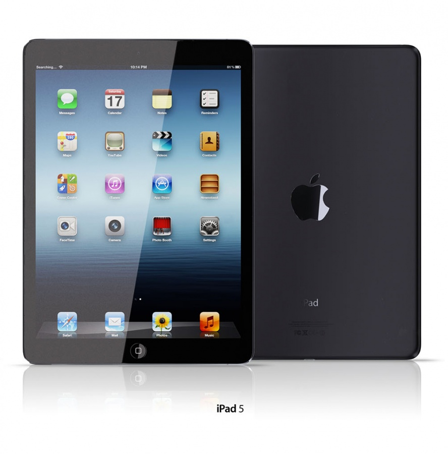 iPad-5 iPad 5 Is Improved to Be Lighter, Smaller and Thinner than Other iPads