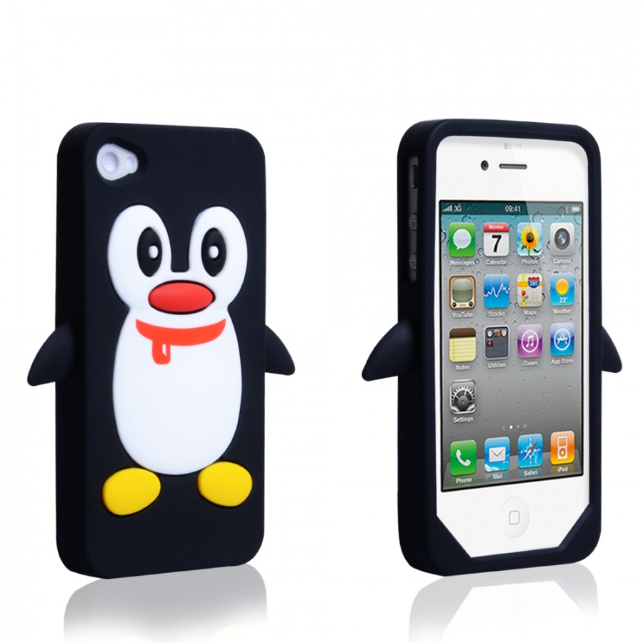iPhone4BlackPenguin1000 10 Catchy Gift Ideas for Twins