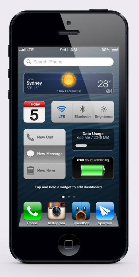 ios7-dashboard iOS 7 as the Most Advanced Mobile OS in the World