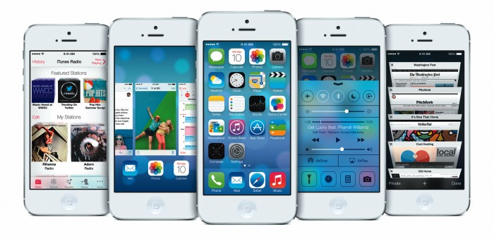 ios7-iphone iOS 7 as the Most Advanced Mobile OS in the World