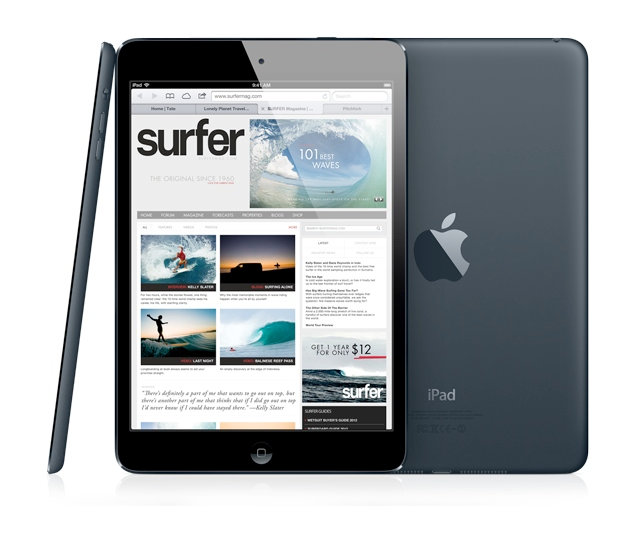 ipad-mini-2-vs-ipad-5 iPad 5 Is Improved to Be Lighter, Smaller and Thinner than Other iPads