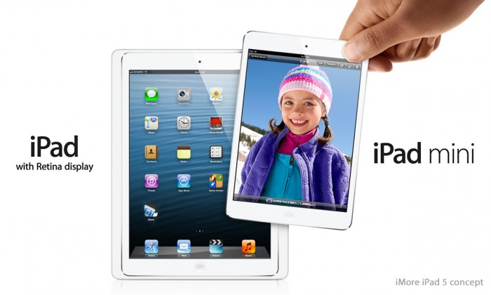 ipad_5_mini_concept iPad 5 Is Improved to Be Lighter, Smaller and Thinner than Other iPads