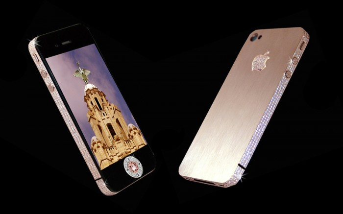 iphone-4-diamond-rose 50 Fascinating & Luxury Diamond Mobile Covers for Your Mobile