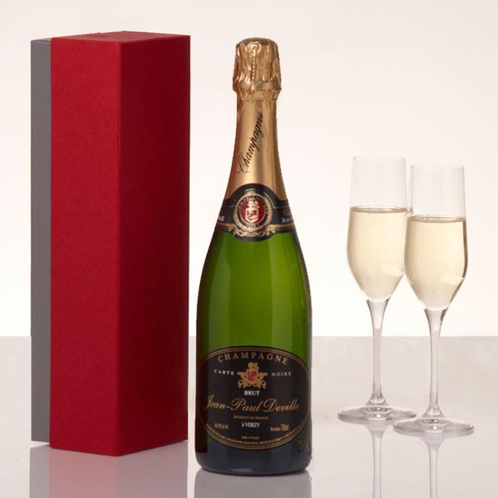 jean-paul-deville-champagne-bottle-gift-75cl 10 Retirement Gift Ideas for Women