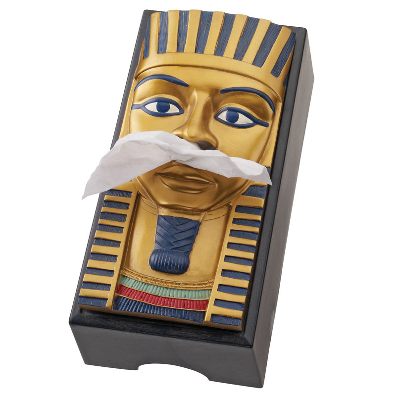 king-tut-egyptian-tissue-box-cover-1 45 Non-traditional & Funny Christmas Gifts for 2021