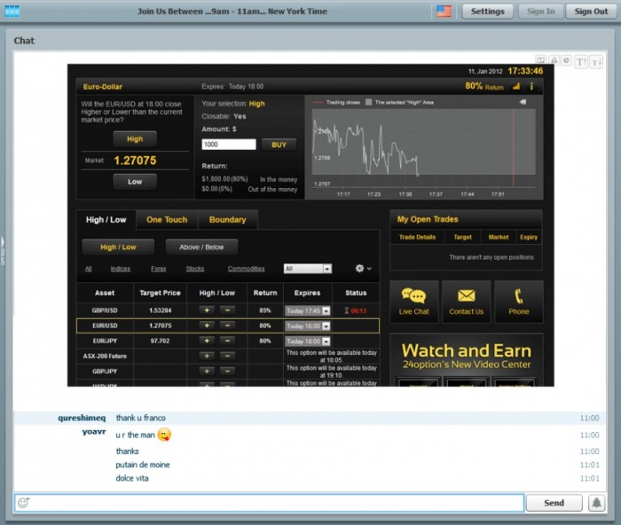 large_screenshot1. Copy a Live Professional Trader with Binary Options Trading Signals