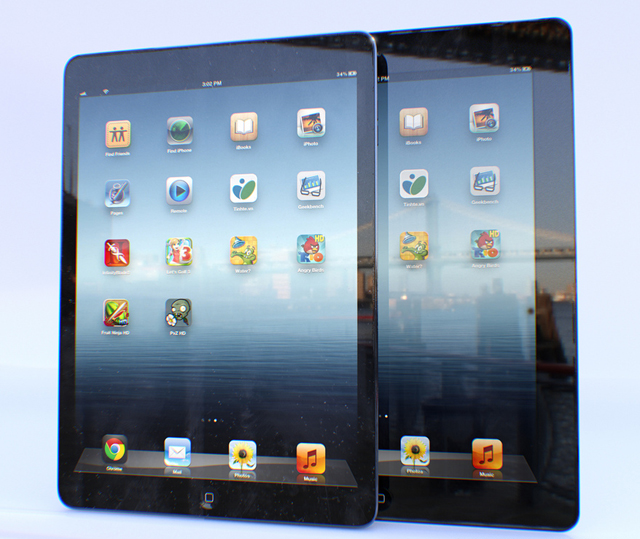 mac-spoilers-iphone-mini-iphone-5s-ipad-5-mockups-11 iPad 5 Is Improved to Be Lighter, Smaller and Thinner than Other iPads