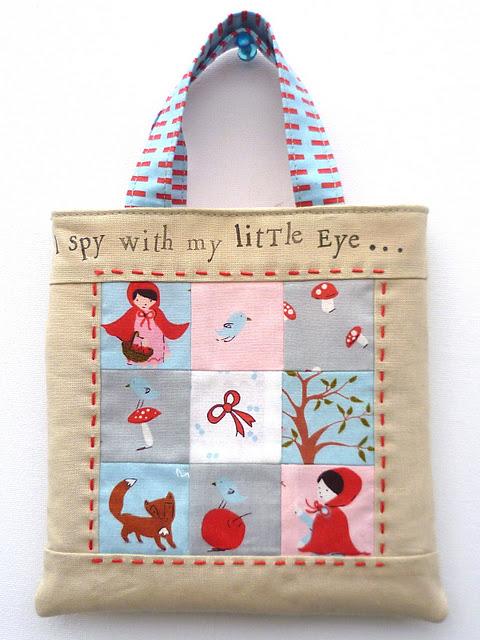 mini-tote-bag-tutorial 10 Stunning & Fascinating Homemade Xmas Gifts