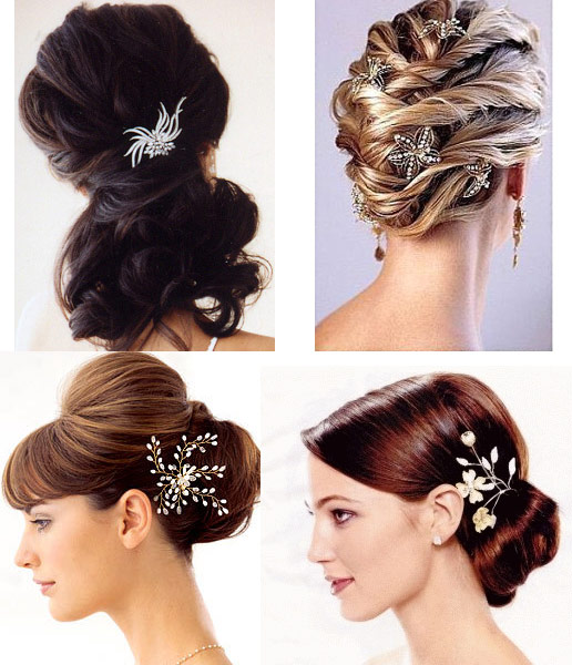 modern-style-wedding-hairstyles-trends-2012-bridal-wedding 50 Dazzling & Fabulous Bridal Hairstyles for Your Wedding