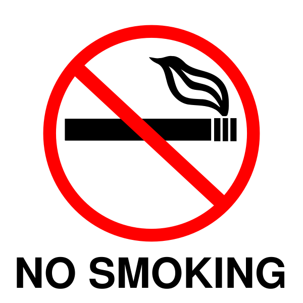 no_smoking_signsvg 5 Tips On Taking Good Care Of Our Lungs