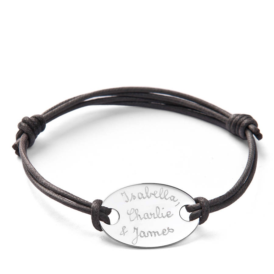 original_engraved-plate-bracelet 10 of the Cheapest Personalized Gifts for Men