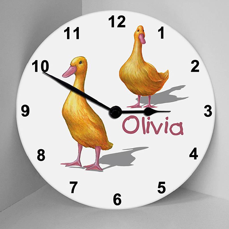 original_justducks_clock_big 10 Catchy Gift Ideas for Twins