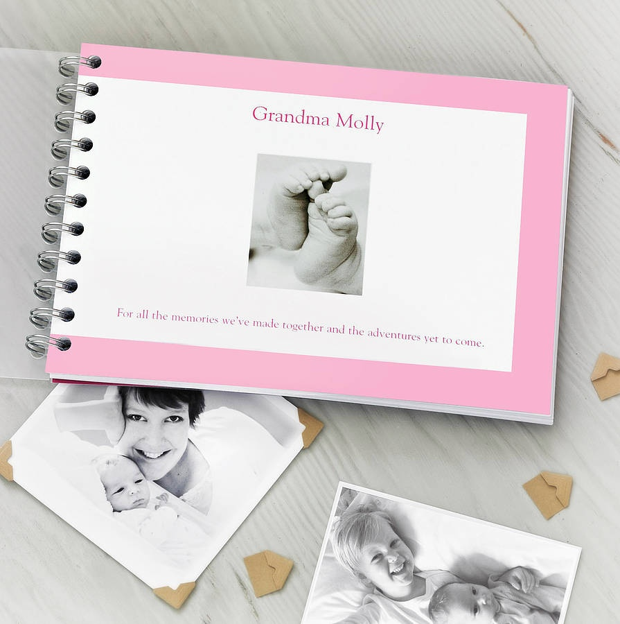 original_personalised_grandparent_memory_album. The Best 10 Christmas Gift Ideas for Grandparents