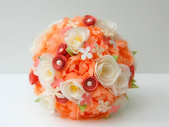paper-wedding-flower-bouquets-528 10 Fabulous Homemade Gifts for Your Mom