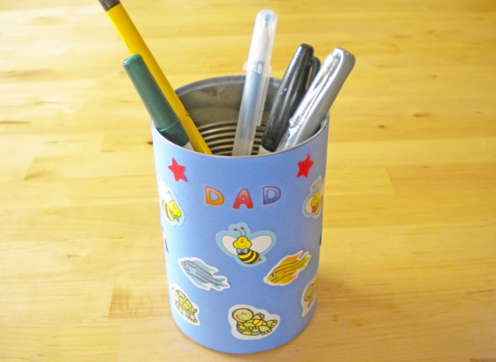 pencil-cup-craft-850 50 Unique Gifts for Father's Day