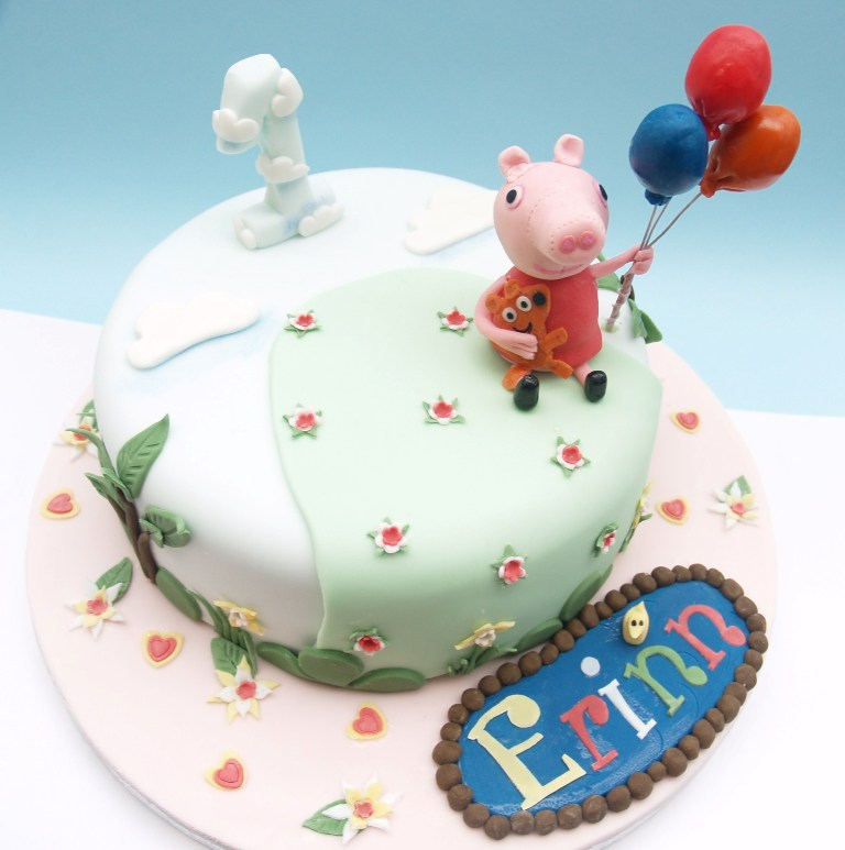 peppa-pig-birthday-cake-180 60 Mouth-Watering & Stunning Happy Birthday Cakes for You