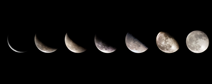 phases-of-the-moon The Monthly Cycle Of The Moon And Its Phases